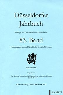 Cover Düsseldorfer Jahrbuch - 83. Band