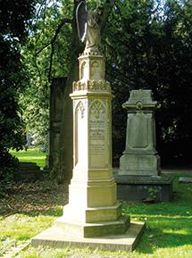 Grabmal der Familien Wolferts und Müller