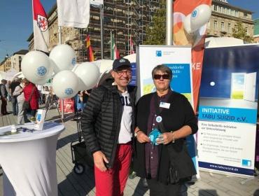 Auch der Verein TABU SUIZID mit Frau Reichmann-Schmidt ist dabei..