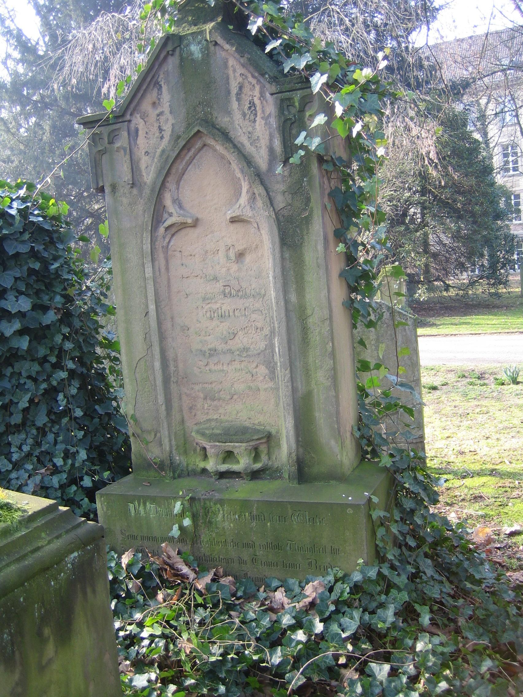 Grabmal von Vincenz Joseph Bracht